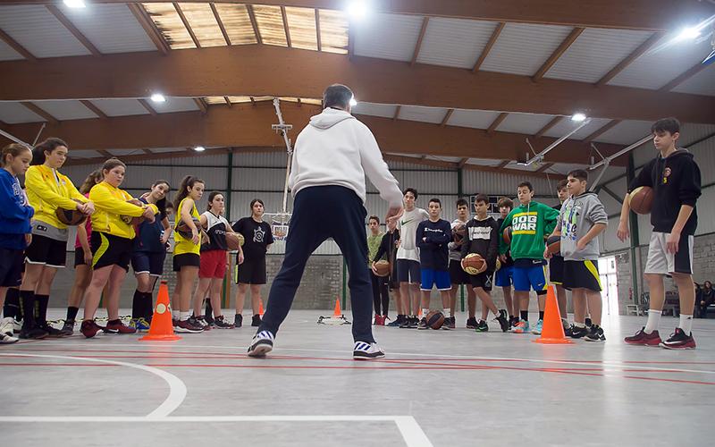 Campus Navidad baloncesto Xmas Camp